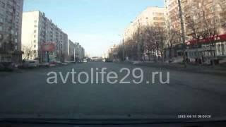 Экзаменационный маршрут ГИБДД г. Архангельска № 5(Часть 1., 2013-04-14T12:36:53.000Z)