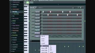 FL Studio 9 Beginners Tutorial Pt. 3 -How to Make a Melody