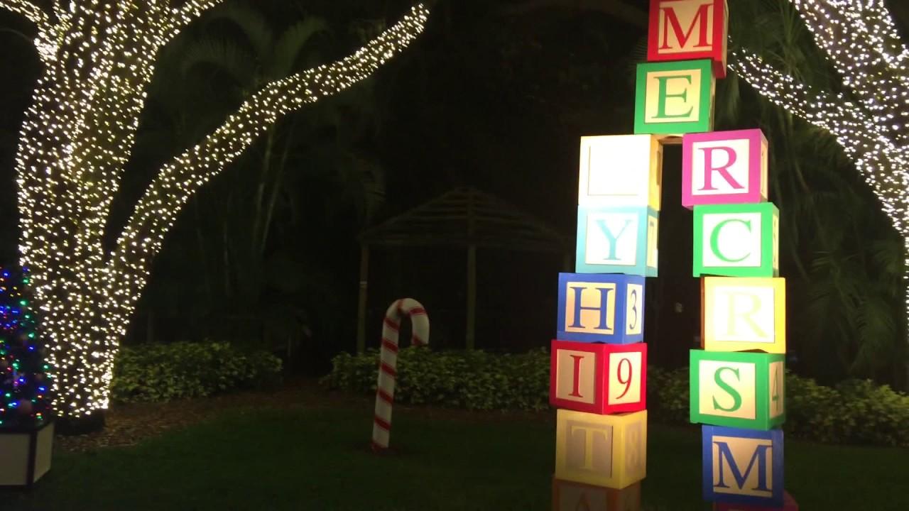 Busch Gardens Tampa Christmas Town 2016 Doovi