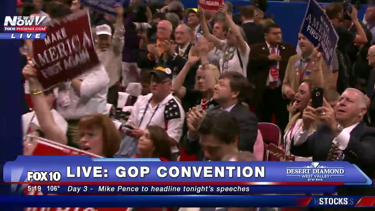 Standing Ovation Laura Ingraham Passionate Speech For Donald Trump Fnn