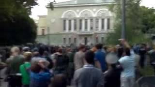 Съёмка фильма «Матч» в Харькове. (Взрыв). :)