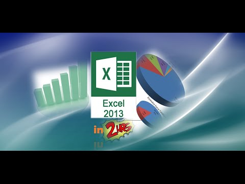Excel 2010 Tutorial:  Comprehensive Part 1 of 2 - Become a Pro in 1 Hour