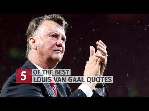 Five Of Louis van Gaal's Best Manchester United Quotes