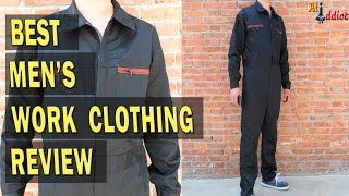 High Quality Mens Work Clothing Long Sleeve Coveralls review