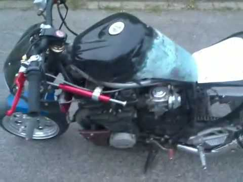 Pocket Bike Xj 600 Yamaha Tuning Burnout Mini Bike 600cc