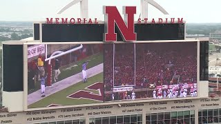 Nebraska tunnel walk prior to Colorado game