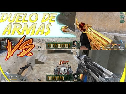 Blood Strike-AK-47 OURO VS AK-47 HONRA (MODO ZUMBI)  ‹ 2Kill ›