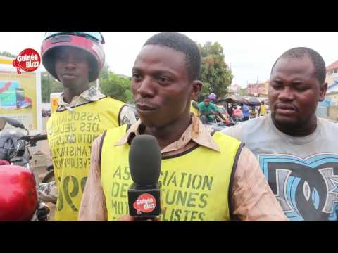 Chômage Des Jeunes : Business Du TAXI MOTO à Conakry (Guinee Buzz)