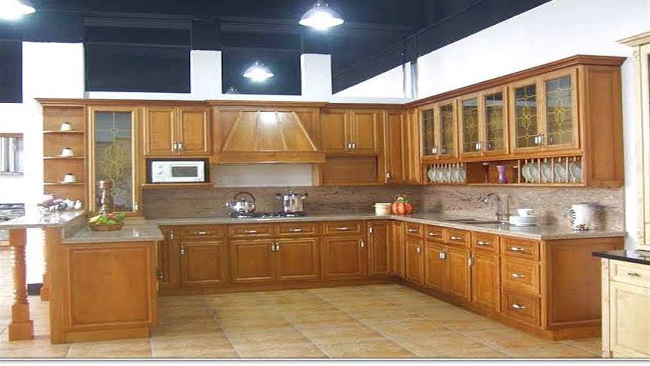 kitchen cabinet design ideas modular kitchen design india and rh youtube com kitchen wood design images