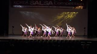 Salsa dance performance 2011 살사컴피티션 라틴파라다이스 빠라디소 단체전2위