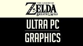 Zelda Breath of the Wild | Ultra Graphics on PC | Cemu 1.11.3