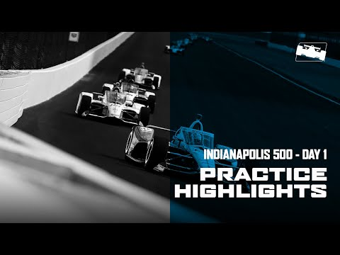 2020 Indy 500 Practice Day 1 Highlights