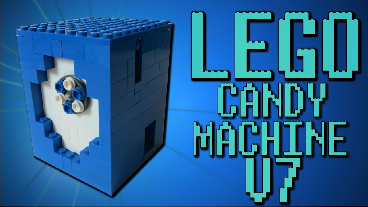 how to make a lego gumball machine