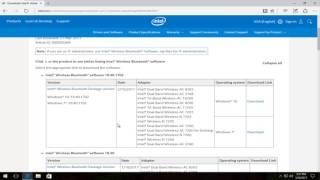 Download How To Download and Install Intel Bluetooth Driver Software On Windows 10/8/7