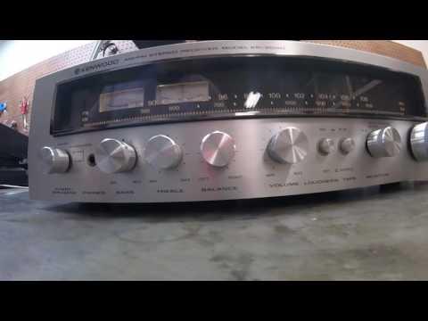 Vintage circa 1978 Kenwood KR-3090 Stereo Receiver