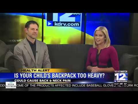 Preventing Back & Neck Pain From Heavy Backpacks
