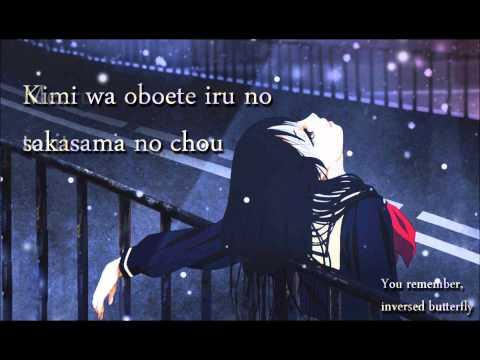 Sakasama no Chou by SNoW (with lyrics+eng lyrics)