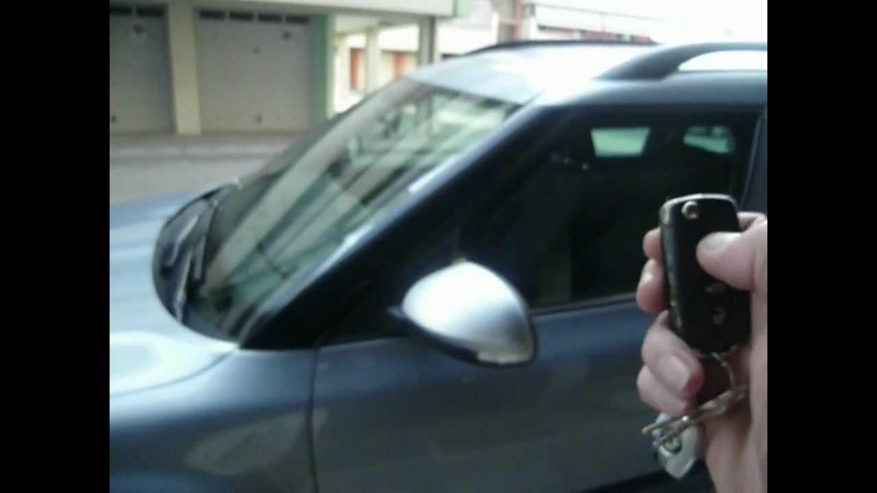 Skoda Yeti MY 2010 - folding mirror - YouTube