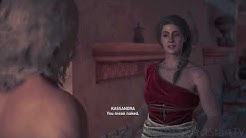 Kassandra hears sex noises, ends up having sex with Alkibiades | Assassin's Creed Odyssey