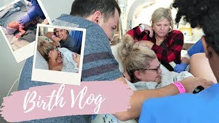 EMOTIONAL BIRTH VLOG | UNEXPECTED EARLY LABOR & DELIVERY