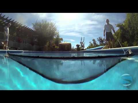 skim a round the ultimate pool skimmer a floating po. Black Bedroom Furniture Sets. Home Design Ideas
