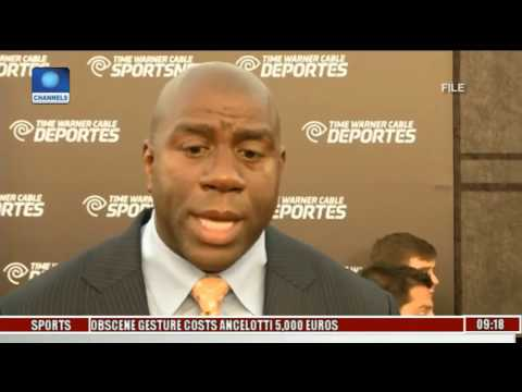 Sports This Morning: Magic Johnson Named President LA Lakers Basketball Operations
