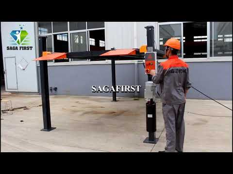 Four Post car lift- SAGAFIRST