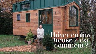 Vivre à 2 Dans Une Tiny House En Hiver !