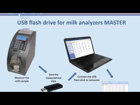 USB flash drive for milk analyzers MASTER Milkotester Ltd