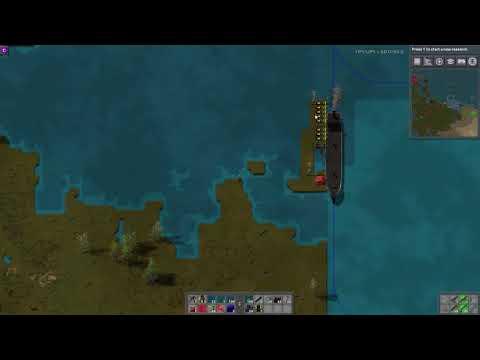 Factorio Mod Spotlight - Cargo Ships