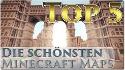 Top 5 - Die Schönsten Minecraft Maps |TRG 2.0 [Deutsch/HD]