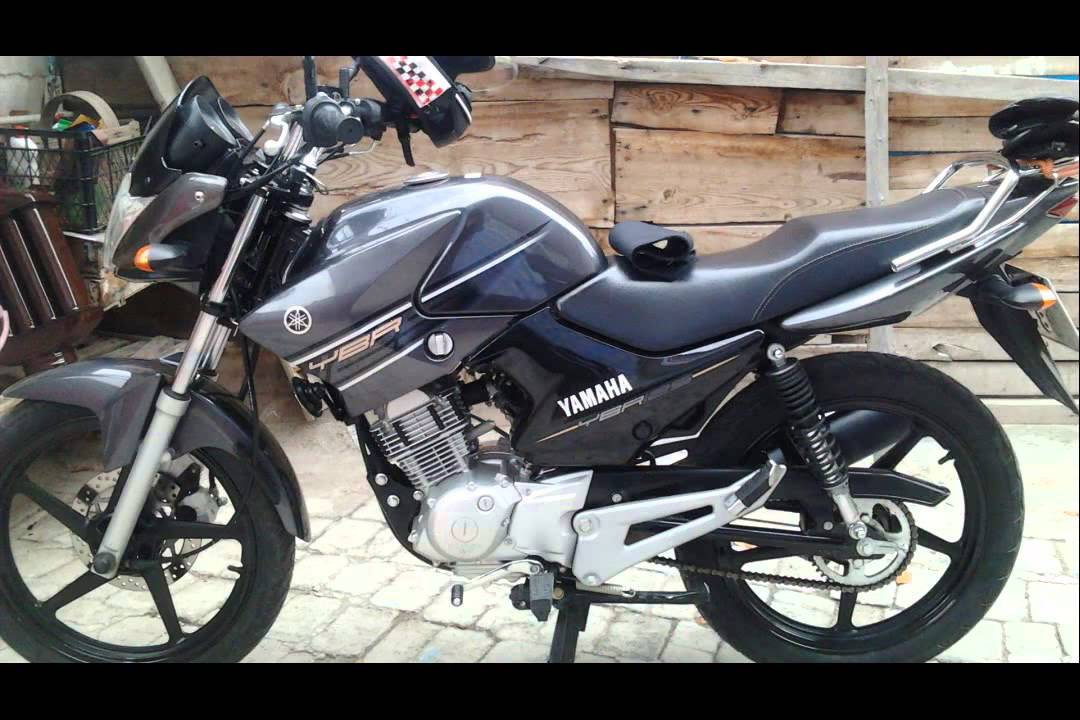 yamaha ybr 125 esd 2015 model youtube. Black Bedroom Furniture Sets. Home Design Ideas