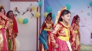 Maruni dance by grade five Everest and Kangchenjunga