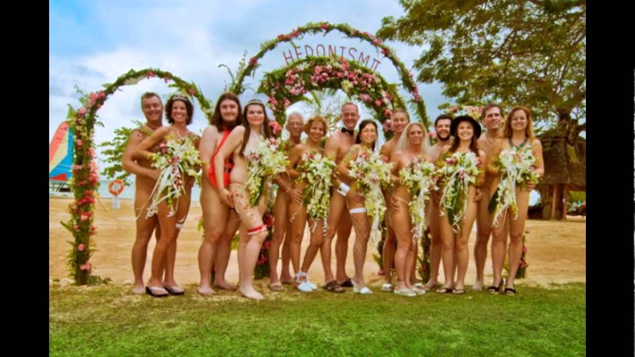 Nudist bisexual friends and wedding! So cool!