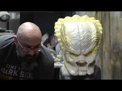 How To Paint A Predator Elder Head With Joe Ta2pro Evans
