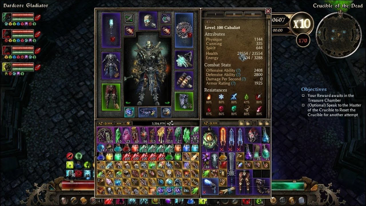Grim Dawn Cabalist Pet Build 2019
