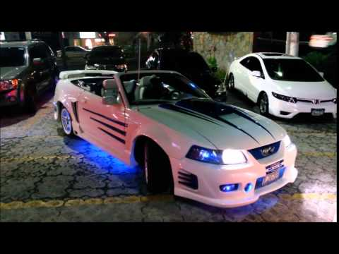Carros Modificados El Salvador Mustang MG-5 - YouTube