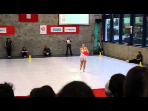 Natascia Minoggio -  individuale libero - campionati svizzeri 2012