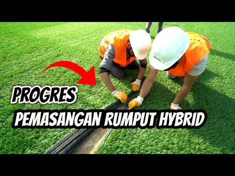 Progres Pemasangan Rumput Hybrid || Jakarta International Stadium Akhir Oktober 2020