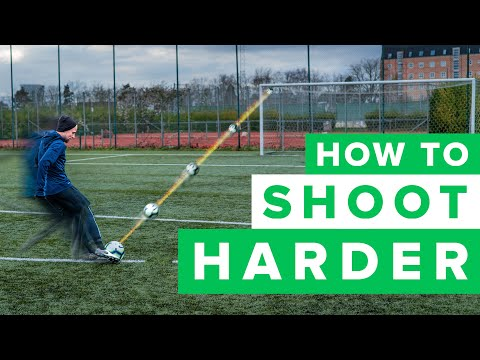 HOW TO GET A HARDER SHOT | Learn To Shoot Harder In Football