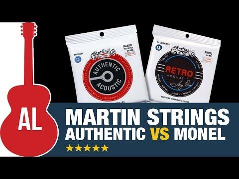 Martin Strings - Monel vs Authentic Mp3