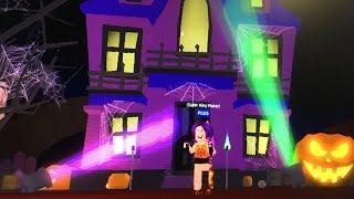 Roblox - Visitando la casa encantada en Meep City (Roblox Halloween Special - 2018)