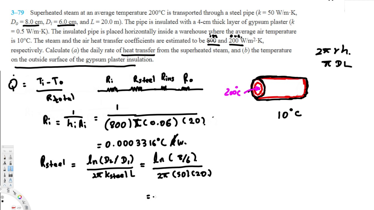 Heat Transfer Calculate Daily Rate Of