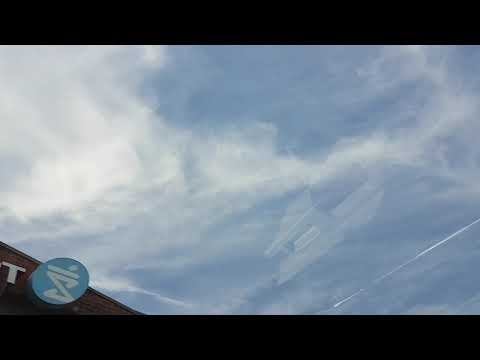 Atmospheric Spraying Over Ontario  for Climate Control & Weather Weapons Programs 4