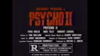 Psycho II TV trailer 1983