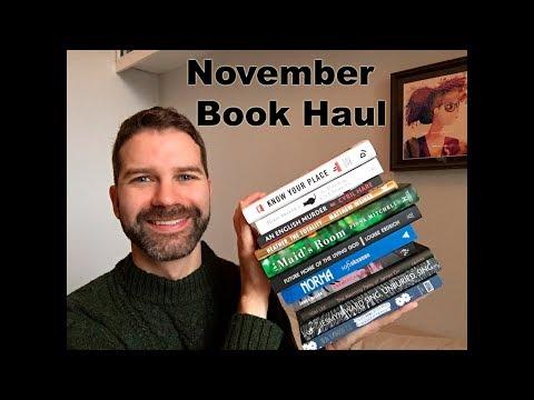 November Book Haul / New Fiction for Winter!