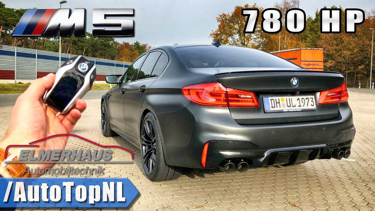 780hp Bmw M5 F90 Elmerhaus Tuned Review Pov On Autobahn By Autotopnl Youtube