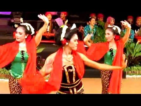 Tari LENGGER Calung BANYUMAS - Javanese Dance - Banyumasan Jawa Tengah - Seblaka Sesutane [HD]