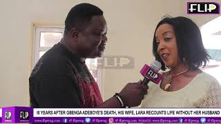 16 YEARS AFTER GBENGA ADEBOYE39S DEATH HIS WIFE LARA RECOUNTS LIFE WITHOUT HER HUSBAND