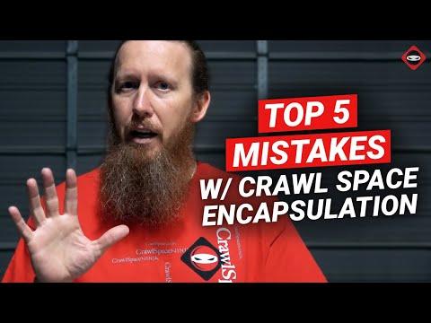 Crawl Space Encapsulation | 5 Crawl Space Repair Mistakes to Avoid
